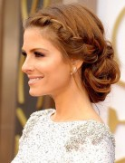 Maria Menounos Braided Updo - Dance Hairstyle Ideas 2015
