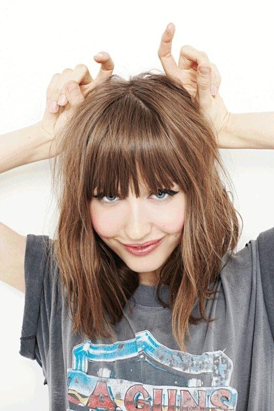 Admirable 21 Pretty Medium Length Hairstyles 2017 Hottest Shoulder Length Short Hairstyles Gunalazisus