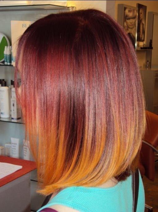Modern Long Bob Haircut - Women and Girls Hairstyles for 2015