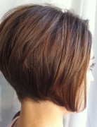 Perfect Stacked Short Hairstyles: Classic Bob for Women
