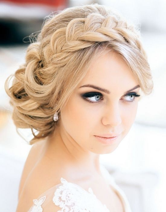 Perfect Updo Hairstyle with Loose Braid - Fantastic New Dance Hairstyles