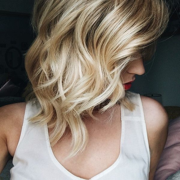 Perfect Waves Hairstyle for Shoulder Length Hair