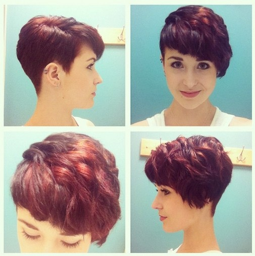 Pixie Cut with Curls - Short Hair Styles 2015