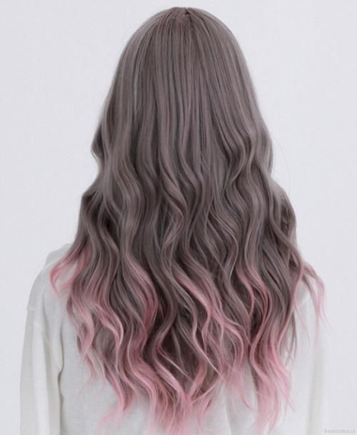 Pretty Long Hairstyle - Ombre Hair Colour