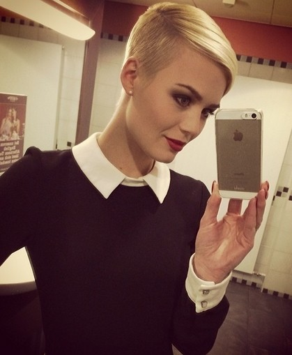 Shaved Pixie Haircut for Fine Hair - Blonde Hairstyles Ideas
