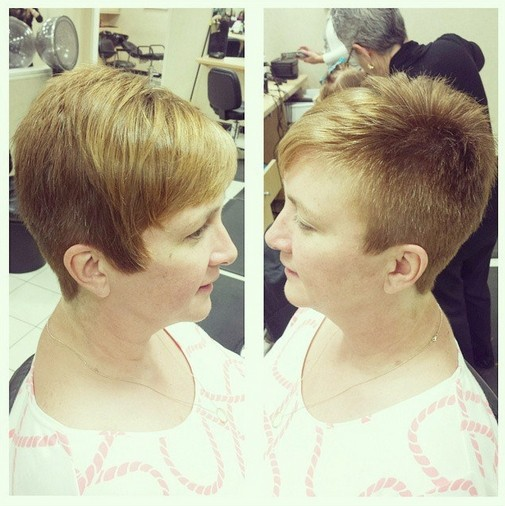 Shaved Pixie Haircuts for Women Over 30 - 40