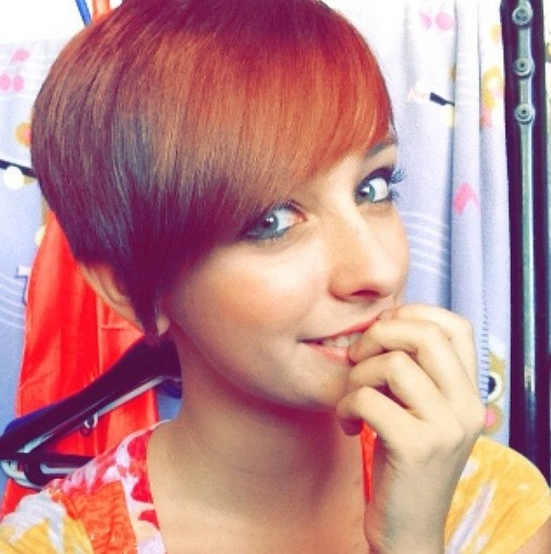 Short Fine Hairstyles with Side Swept Bangs - Short Haircuts 2015