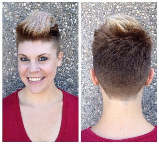 Short Pixie Hairstyles for Women 2015