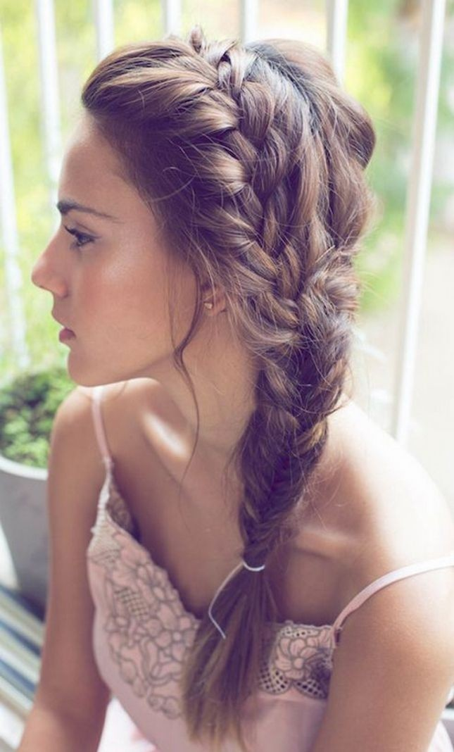 Prime Pretty Side Braid Hairstyles Popular Haircuts Hairstyle Inspiration Daily Dogsangcom