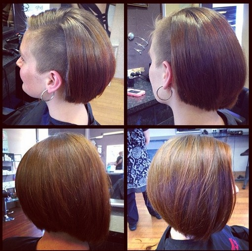 Stylish Bob Hairstyle for Straight Hair - Short Haircuts  width=