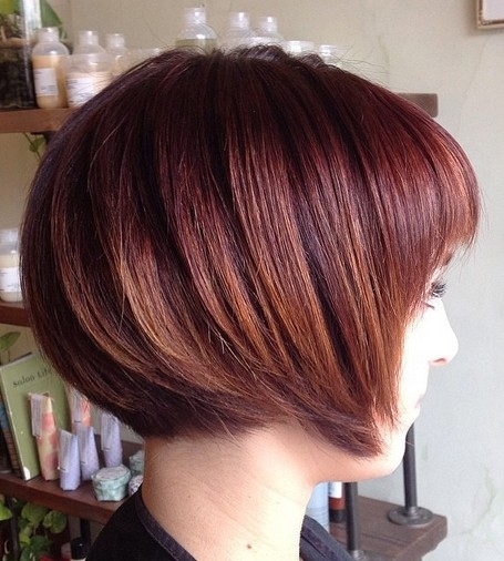 Outstanding 23 Stylish Bob Hairstyles 2017 Easy Short Haircut Designs For Women Hairstyles For Women Draintrainus