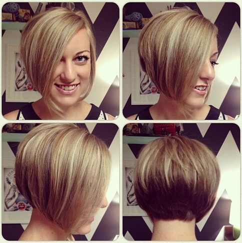 Trendy A-Line Bob Haircut