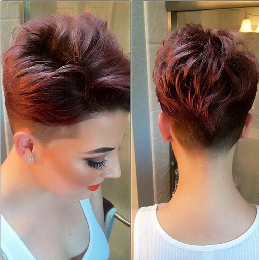 Trendy Short Hairstyles for Spring 2015