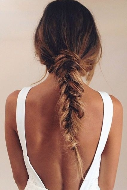Twisty Braid for Long Hair: Summer Hairstyles 2015 / Via