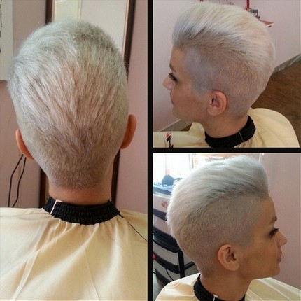 Everyday Hairstyle for Short Hair: Women Haircuts / Via