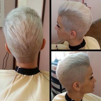 Very Short Hair Style