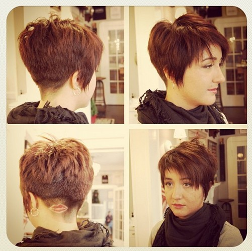 Women Short Hairstyles Designs 2015