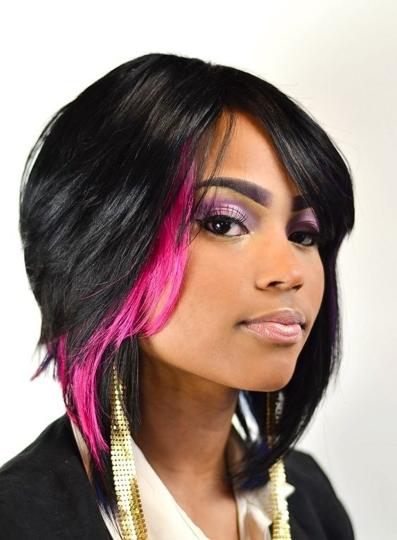 15 Chic Short Bob Hairstyles: Black Women Haircut Designs  PoPular