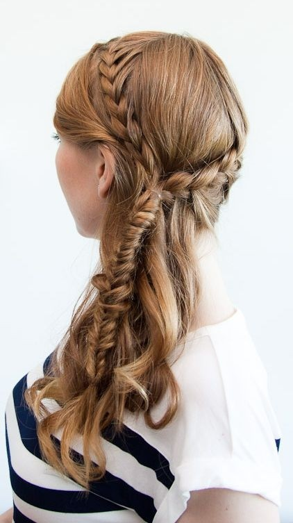 Bohemian Braids Hairstyle for Spring and Summer