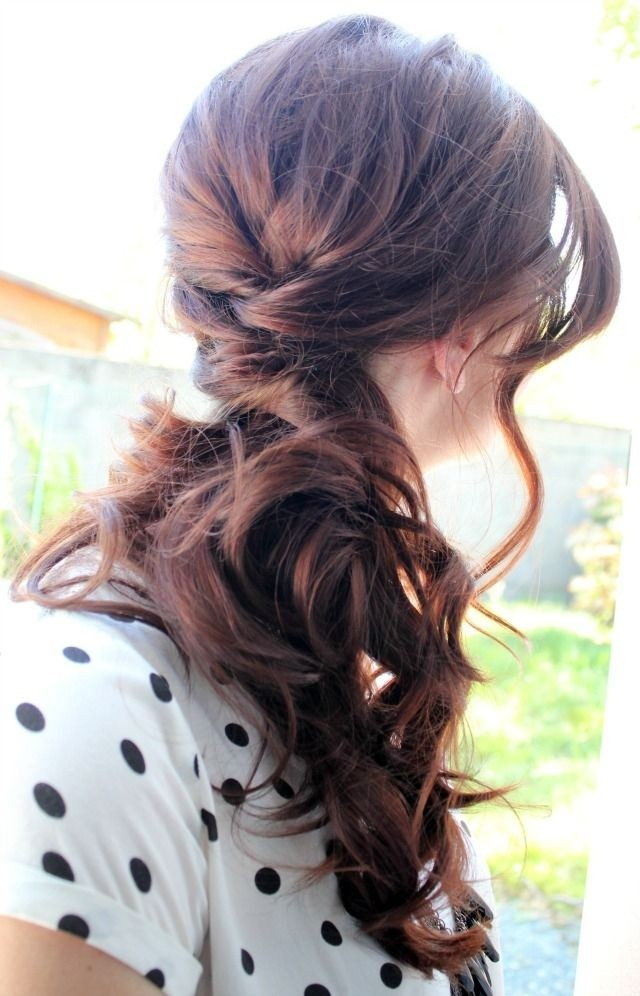 Casual Everyday Hairstyle - Long Hairstyles for Women
