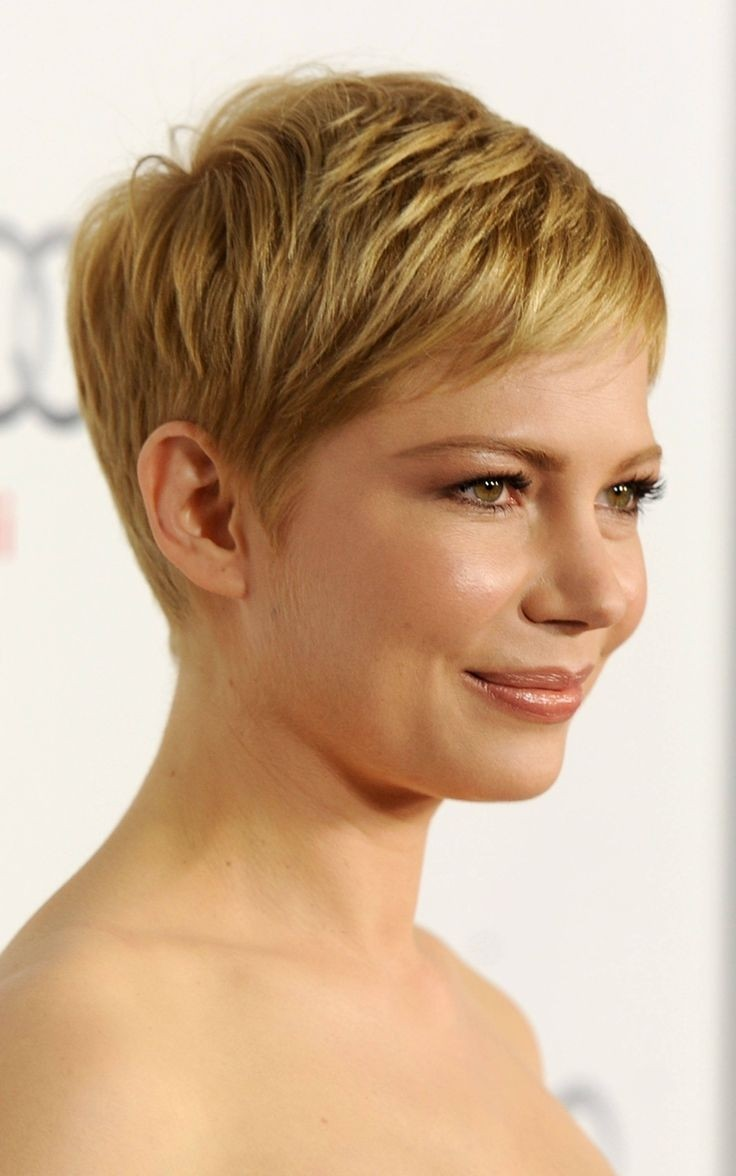 Celebrity Haircut - Very Short Hair with Layers