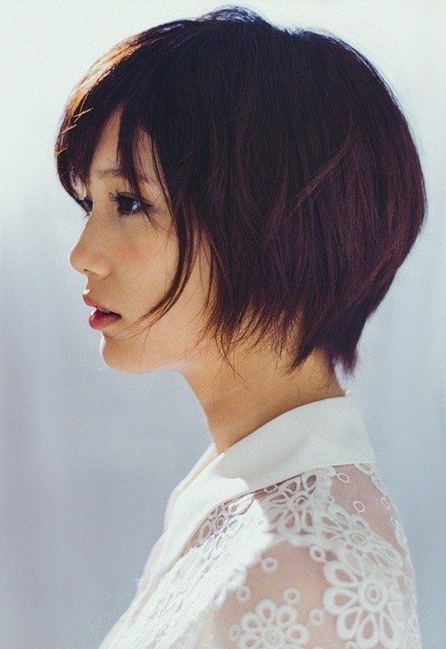Chic Short Haircut For Summer Anese Hairstyles