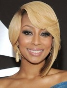 Cute, Asymmetrical Bob Haircut - Short Hairstyles for Black Women