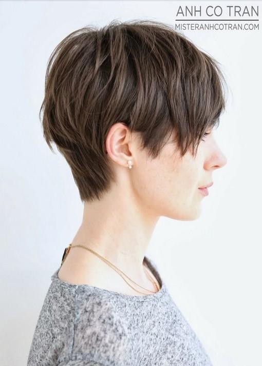 Cute Short Haircut Side View