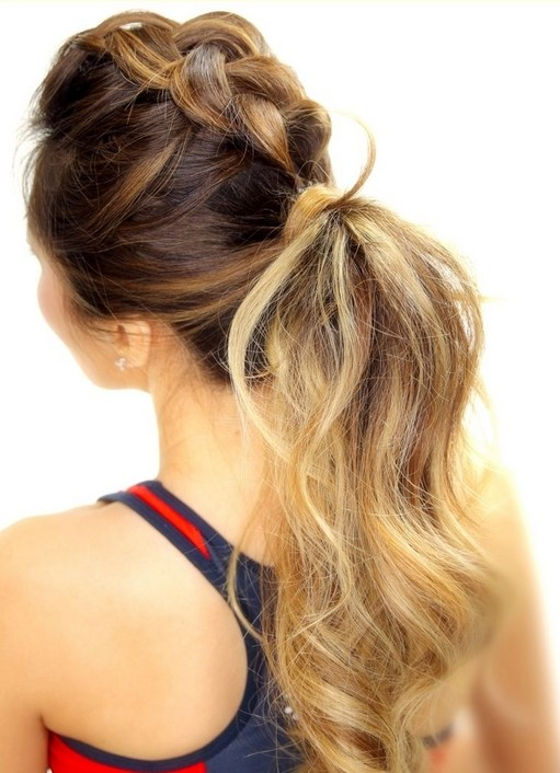 Cutest Braid Ponytail - Long Hairstyles for Summer 2015