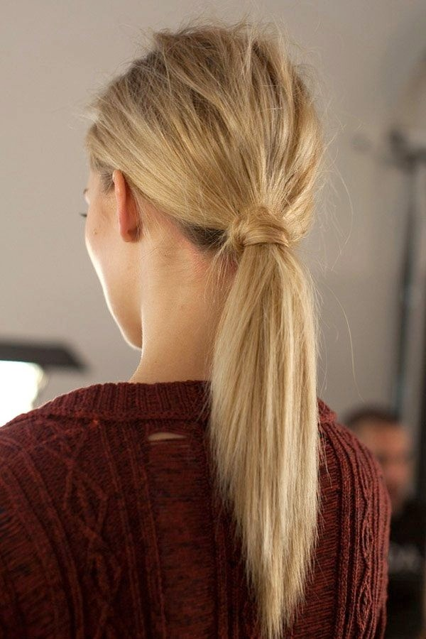 Easy Ponytail - Everyday Hairstyles for Long Hair