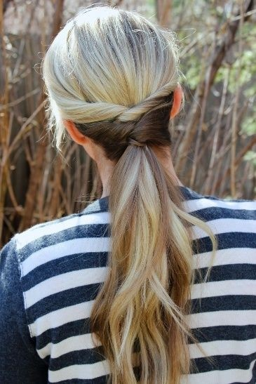 Easy Ponytail Hair Style - Everyday Hairstyles for Women