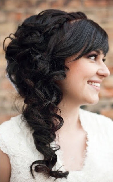 Fancy Side Ponytail - Prom Long Hairstyle Ideas 2015