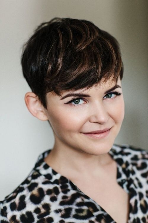 Ginnifer Goodwin Short Pixie Hair Cut - Cute Thick Hairstyles