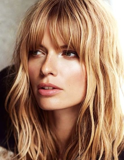 Long Hair Layered Haircuts For Women With Bangs 23