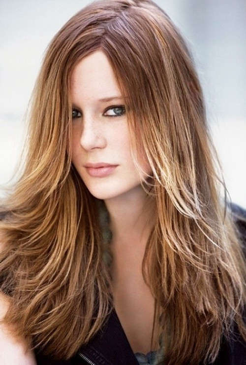 20 Layered Hairstyles for Women with \'Problem\' Hair - Thick ...