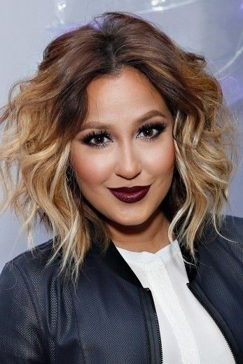 hair color for 2015 spring. messy, wavy hairstyle - medium hair color ideas for 2015 spring