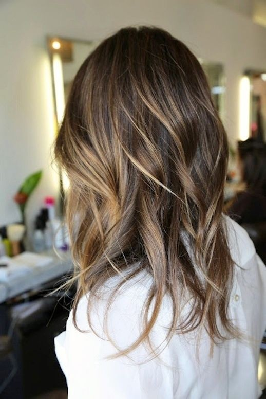 Perfect Subtle Highlights Inspiration for Brunettes - Women Long ...