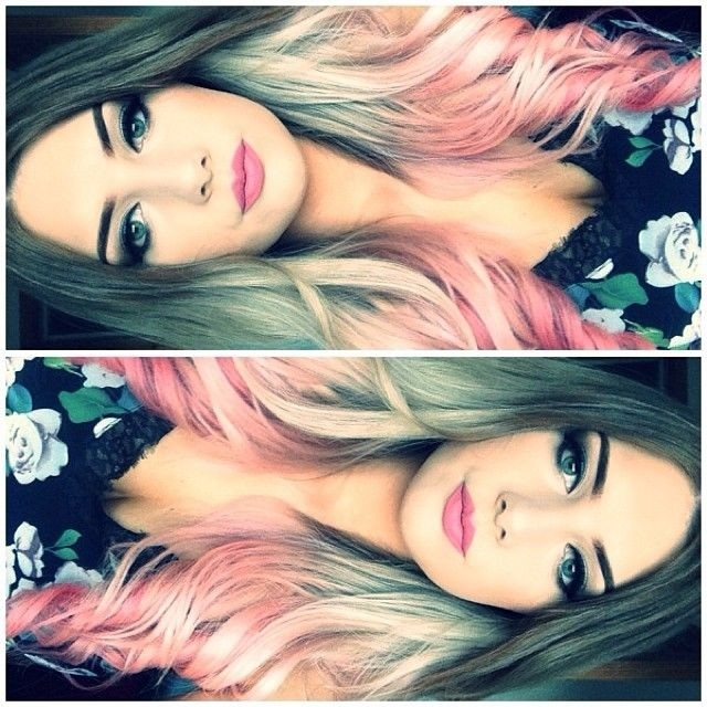 Pretty Hair Colour Ideas - Long Hairstyles 2015