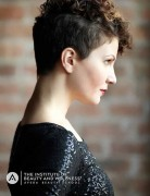 Pretty Pixie Haircut with Curls