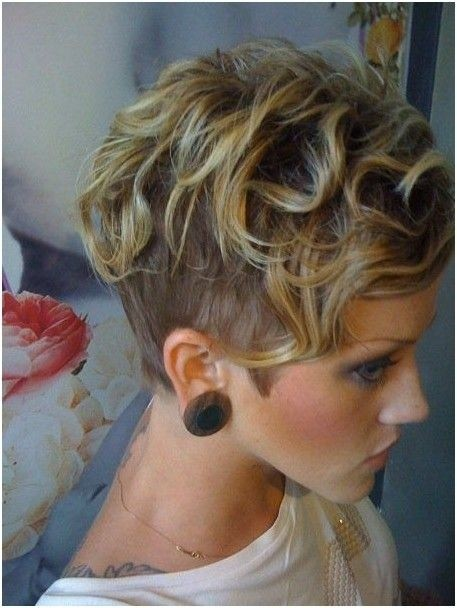 Shaved Short Hairstyles for Curly Hair