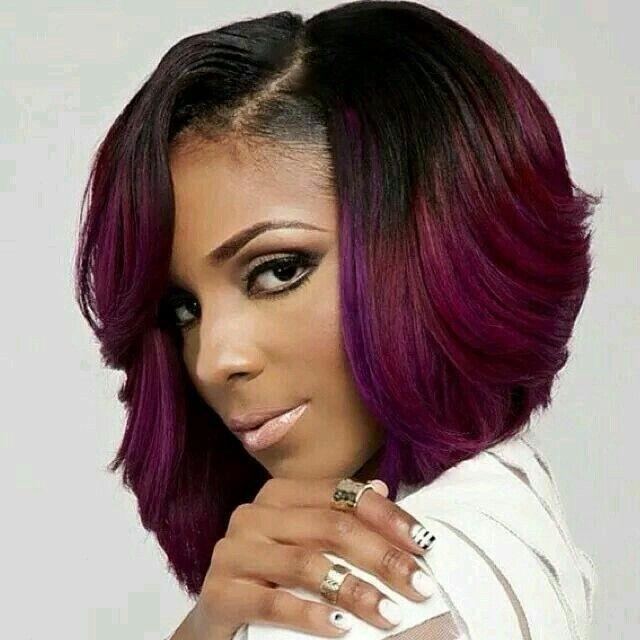 15 Chic Short Bob Hairstyles : Black Women Haircut Designs