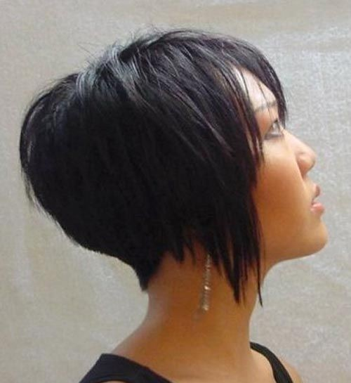 Short Thick Hair Style Ideas for Women - Short Asian Hairstyles