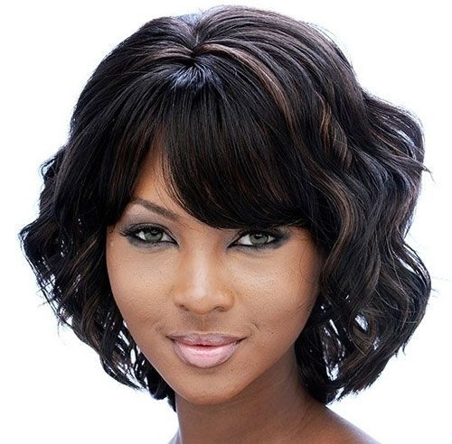 Short Wavy Bob Cut - Short Hairstyles for Black Women