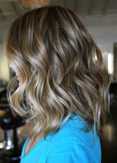 Shoulder Length Hair Style Ideas