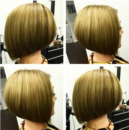 Stacked Bob Hairstyles for Short Straight Hair