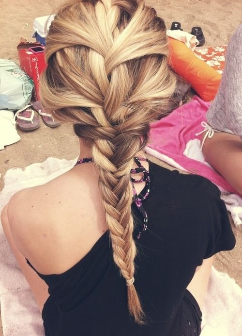 Stylish Braided Hairstyle for Long Hair - Hairstyles for Spring & Summer 2015