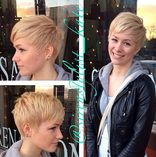 Stylish Pixie Haircut - 2015 Short Hairstyles for Women and Girls