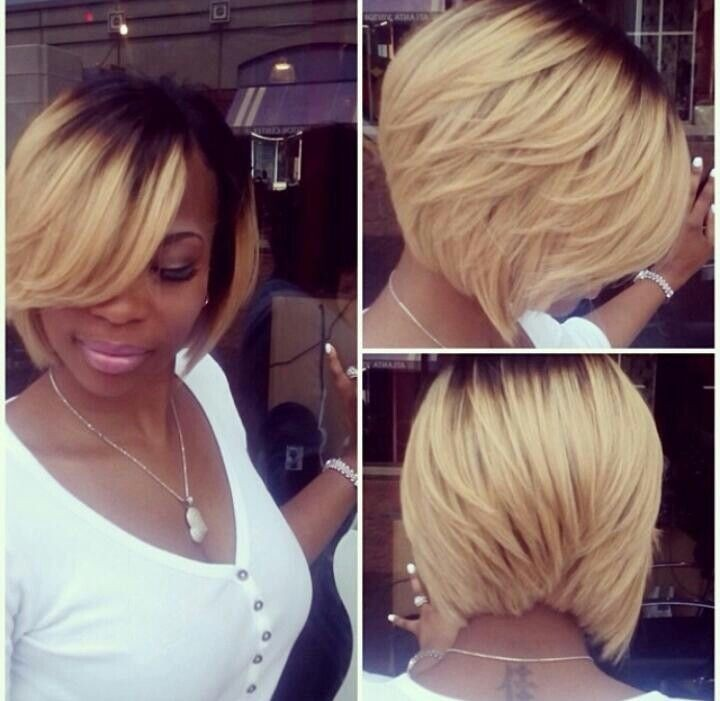 Stupendous 15 Chic Short Bob Hairstyles Black Women Haircut Designs Short Hairstyles Gunalazisus