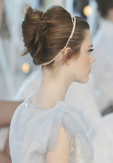 Swanky Wedding Updos for Short Hair