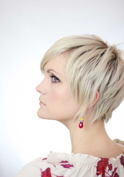 Trendy Layered Short Hairstyles - Women Haircuts 2015